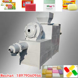 100kg/h soap making machine toilet laundry soap extruder soap extruding machine