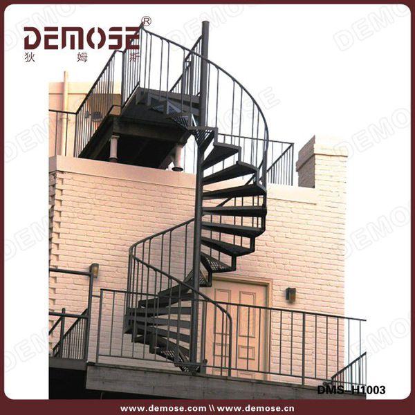utilizado escalera espiral diseo escaleras de hierro fundido para el exterior precio