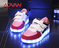 Whole Size 31-35 High Top Fashion Night Light USB LED Shoes for Wholesale MOQ30