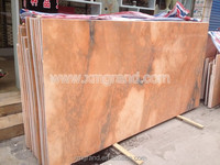 Rosso sunset glow marble slabs slabs for dining table with good price per square meter