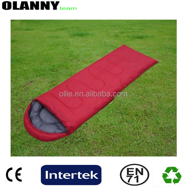 envelope hot sale made in china low price indoor adult sleeping bag