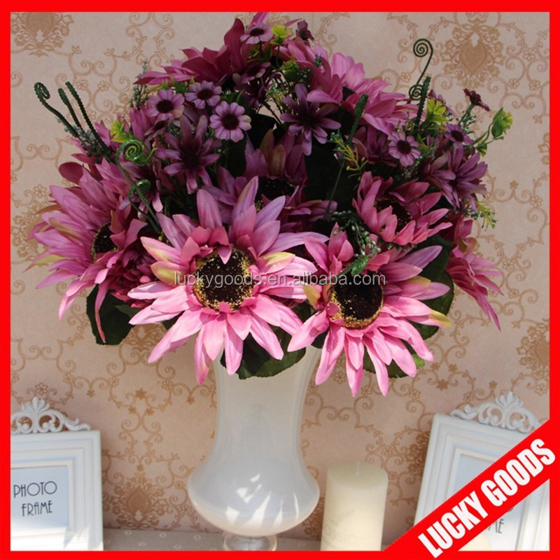 hot sale European style flower bunch dancing sunflower