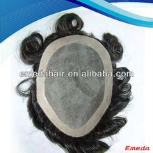 High quality 6 inch hair men toupee in stock wholesale