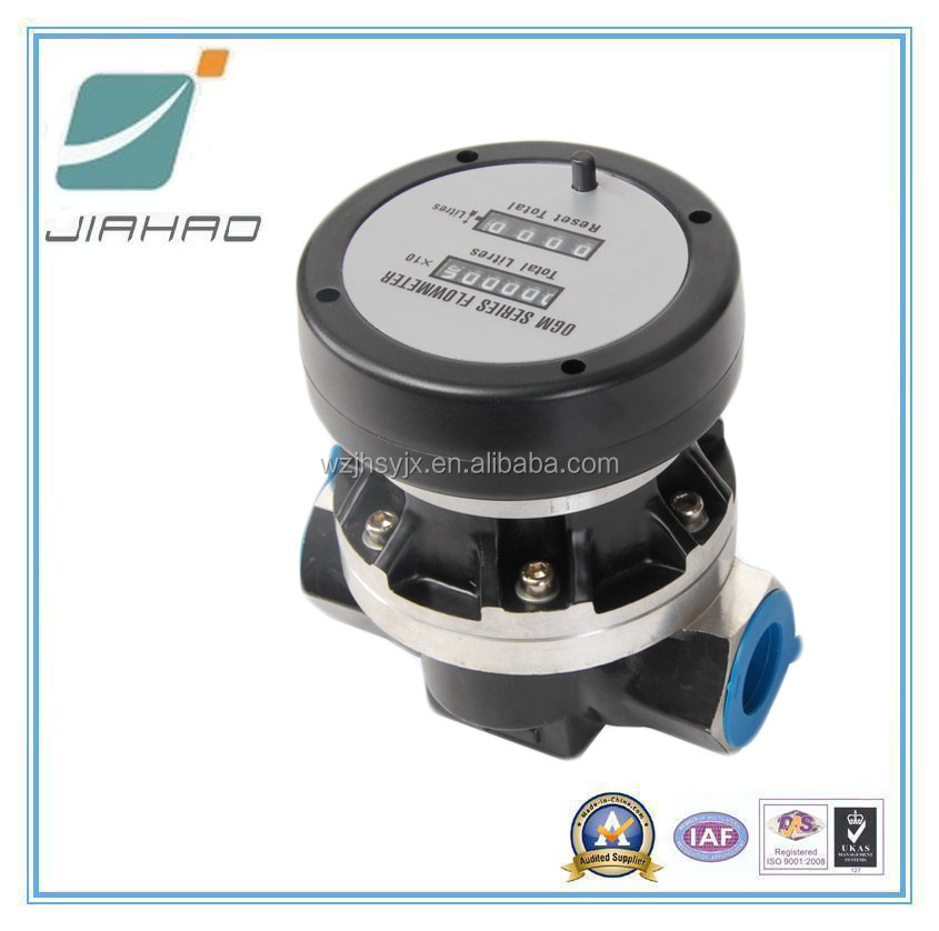 Aluminium Oval Gear Flow Meter, Mechanical Gas Meter