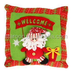 factory supply all kinds cotton filling christmas pillow covers