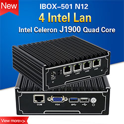 Iwill industrial mini pc intel skylake i3 6100u dual core embedded barebone system fanless computer with wifi COM port msata 4