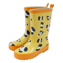 kids cow printed rubber rain boots cheap rain bootswellington