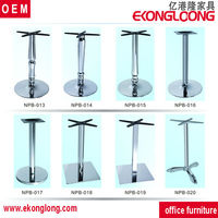 decorative metal table legs