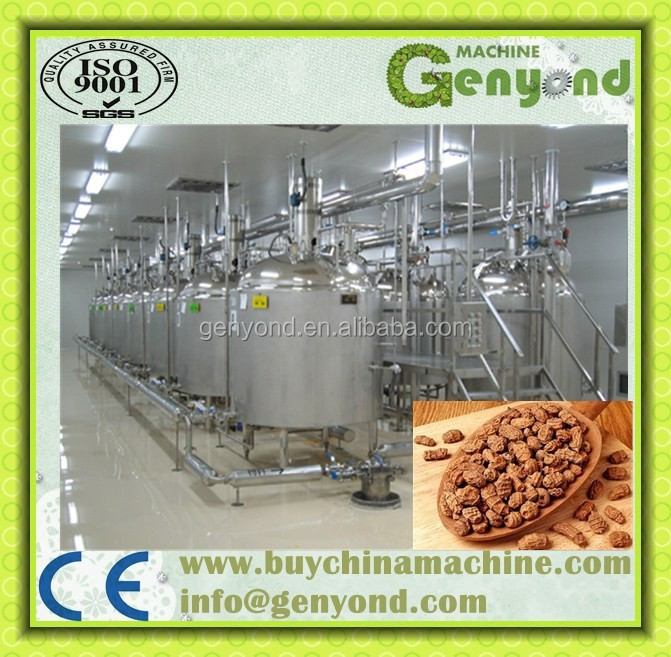 Commercial tiger nuts milk making machine