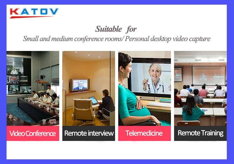 Great Feedback!!1080P USB ptz camera zoom webcam with remote control 360 degree camera for conference room sound system