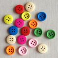 4 hole round wooden button