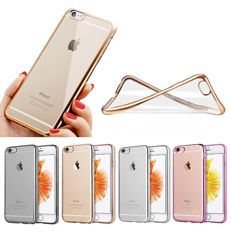 crystal clear soft tpu back case tpu case for iPhone 6/6s,mobile phone shell