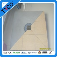 USA popular best seller shower pan with slope Chinese Supplier