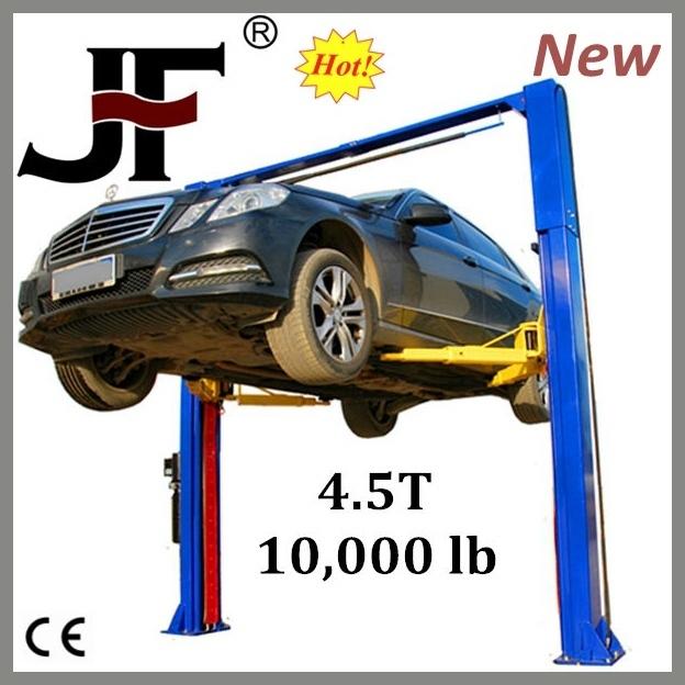 User-Convenient quick manufacture single post car lift