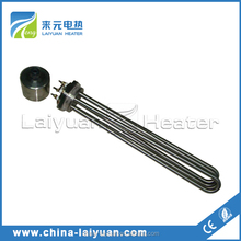 electric water immersion flange heater element heating tube solar water heating tube