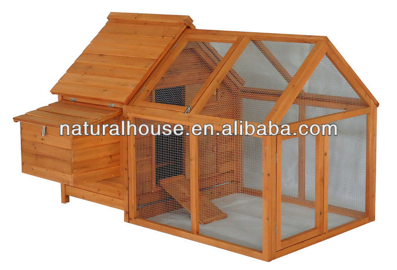Quality Timber Large Wooden Chicken Coop with run for Sales (4-6 hens), chicken house and run