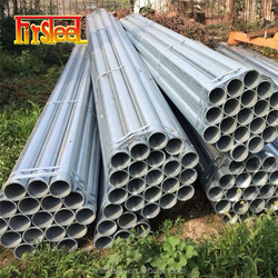 Export quality carbon steel hs code 2 gi hollow pipe with 6m length