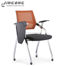 New Model Cheap Stackable Plastic Training Chair With Writing Pad