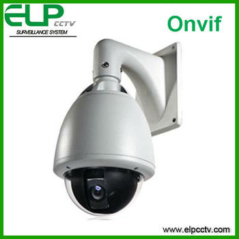 high speed ptz dome ip camera 2.0 megapixel 1080P Outdoor cam with lens ELP-IP2012HM