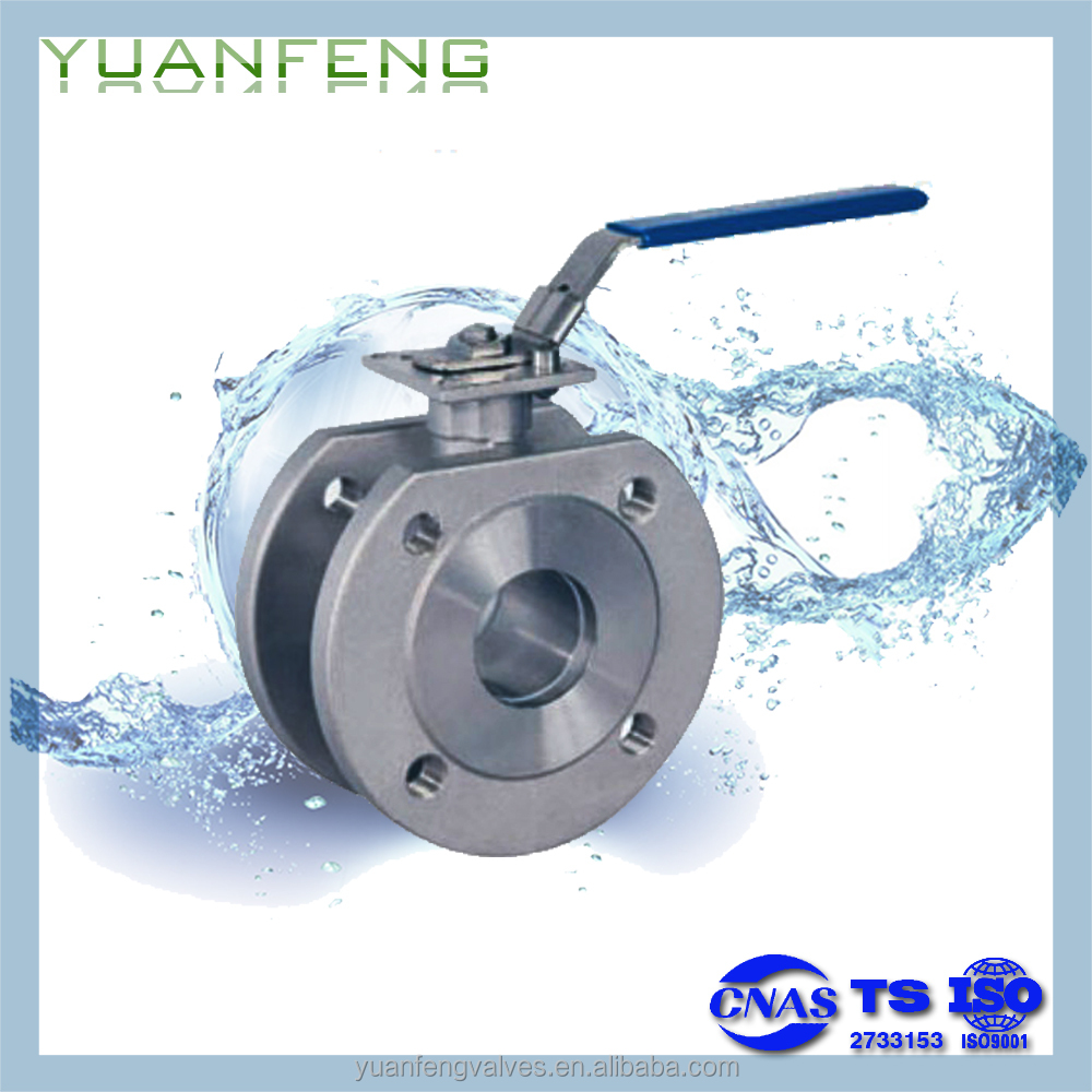 WAFER FLANGED BALL VALVE