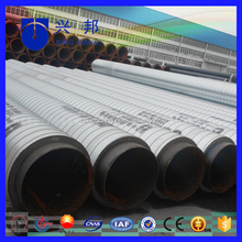 ISO9001 seamless steel tube with pur foam filled and pe lined for turkey underground hot water supply