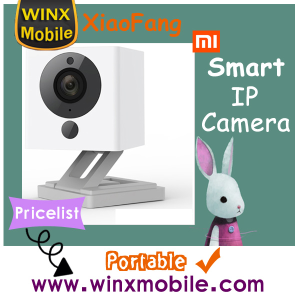 Original XiaoMi XiaoFang Portable Smart IP Camera international Vision 1080P Little Small Square Camera price list hot