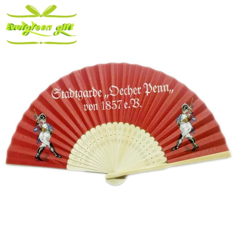 chinese souvenir folding paper fan