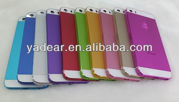 wholesale back cover for Apple iPhone5s Housing for iphone 5s back housing