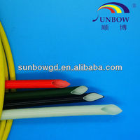 High Temperature , Household appliance , heating equipment Application and Insulation Sleeving Type 2mm fiberglass tube