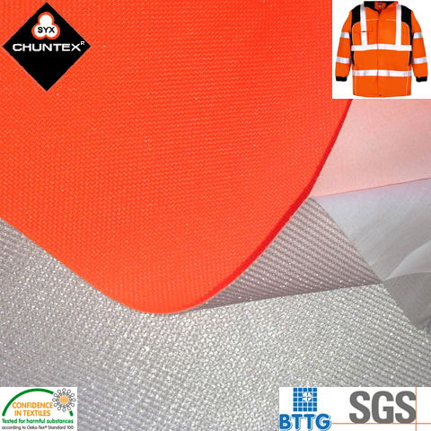 Waterproof Breathable Laminated Polyester Oxford Fabric for Multi-Functional Garments