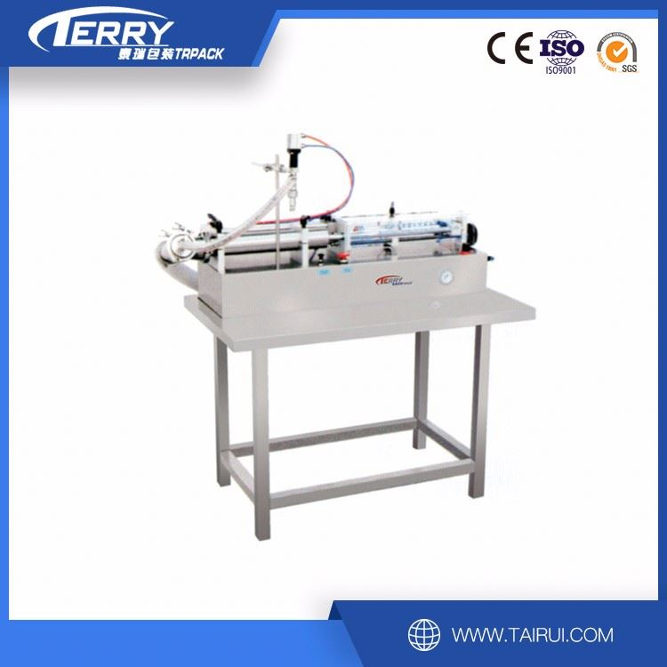 Hot sale line filling product example fill machine