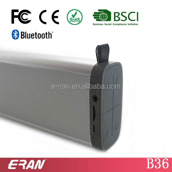 2017 Factory hot-selling promotion Portable Metal Bluetooth speaker support FM function