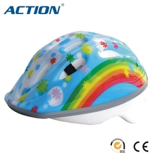 Colorful rainbow helemt sport helmet
