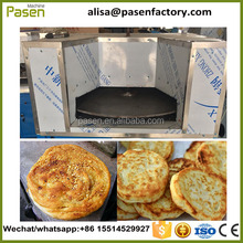 Clay oven rolls baking oven/Baked wheat cake furnace/gas sesame seed cake machine