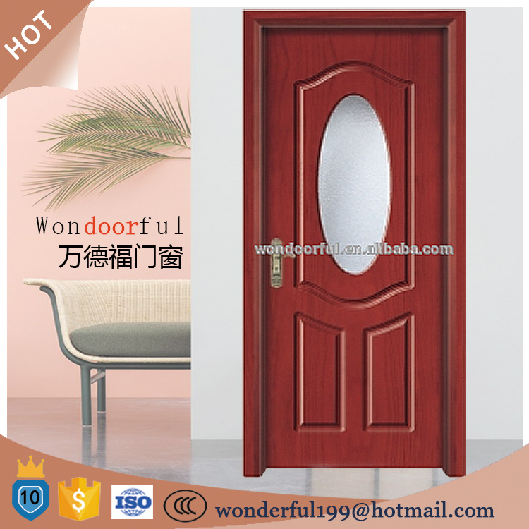 low prices entry door 12mm tempered glass inserts
