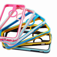 Double color tpu bumper frame for iphone5c rim frame 2013 new product made in China phone cover