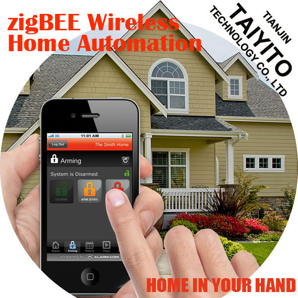 Zigbee home automaton/ smart home touch control panel