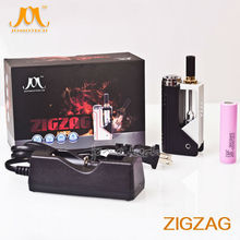 newest foldable 18650 ecig mod create healthy life e-cigarette with dual coil atomizer