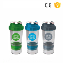 Sport foldable custom logo shaker bottle shaker bottle rechargeable blender shaker bottle