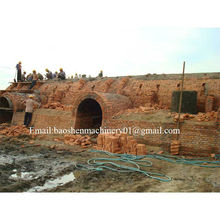 bulding hoffman kiln for clay brick production line