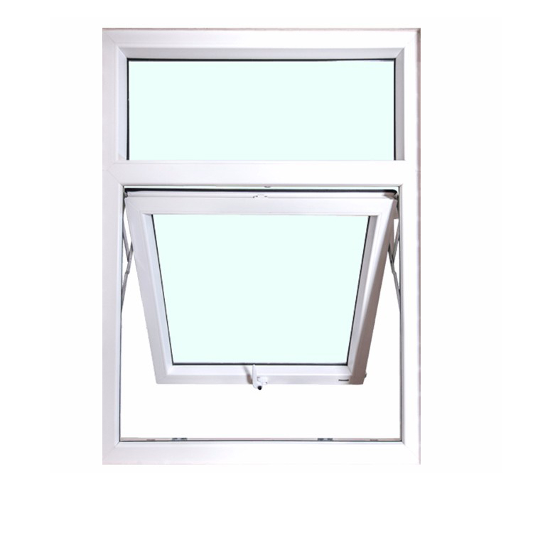 Elegant Latest Style Environment Friendly Top Hung PVC Window