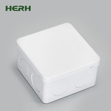 Free sample high precision 4x4 3x3 pvc electrical junction box size