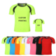 Wholesale custom personality cheap unisex sports fitness quick dry slim fit blank t shirt
