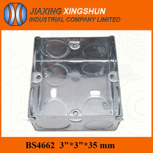 Hot Selling Surface Mounted 1gang Electrical Sockets Outlet Boxes