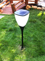 Grass Lawn Blinking Led Solar Spot Light For Home Garden