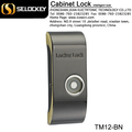 TM card system key door and electronic key for sale New design mental electric cabinet lock for locker