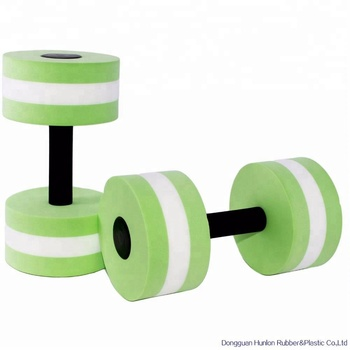 EVA Foam Water-proof Dumbbell Barbell For Swimming Learner
