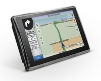 "Wince 6.0 System 5"" Touch Screen Car GPS Navigation Sat Nav 128M/4GB with bluetooth reverse camera"