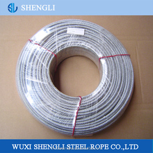 High Tensile Strength PVC Coated Galvanized Steel Wire Rope