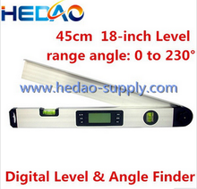 Mini digital protractor inclinometer clinometer angle finder
